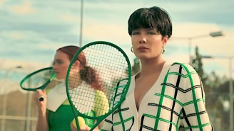 Halsey And Dominic Fike Hit The Tennis Court For Their 'Dominic's Interlude' Video