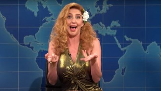 Heidi Gardner Stole The Show On 'Weekend Update' With A Drug-Fueled 80s Impression