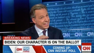 Jake Tapper Called Out Donald Trump For Running The 'Most Negative, Sleazy Campaign In American History'