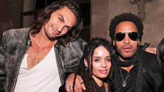 Lenny Kravitz Opened Up About His 'Tight' Bond With Jason Momoa, And Why 'I Love This Dude'