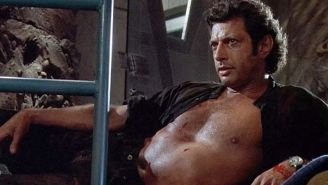 Jeff Goldblum Recreated A Classic 'Jurassic Park' Moment To Get Out The Vote