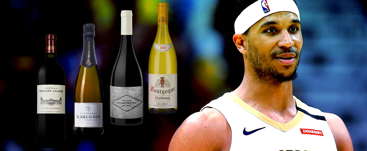 Pelican Guard Josh Hart Shares His Favorite Bottles Of Wine Under $50