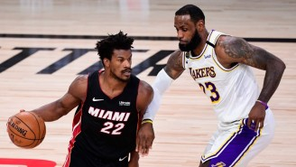 Jimmy Butler Yelling 'They're In Trouble' Was A Response To LeBron Saying That To Him Earlier