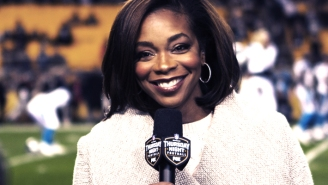 Kristina Pink Brings A Unique Energy To The Thursday Night Football Broadcast