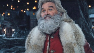 Kurt Russell Is Comparing His Newest Santa Claus Movie To… 'The Passion Of The Christ'?