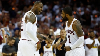 Kyrie Irving Responds To Suggestions He Swiped At LeBron: 'Don't Listen To The False Narratives'