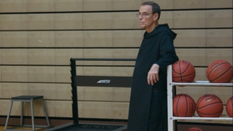 We Sat Down With The Benedictine Monk At The Center Of Steph Curry's New Docuseries, 'Benedict Men'