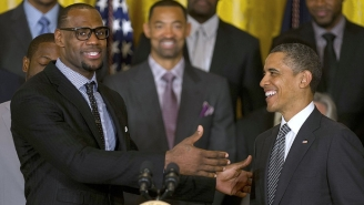 LeBron Thanked His Guest Barack Obama On 'The Shop' For His Guidance During The NBA Work Stoppage