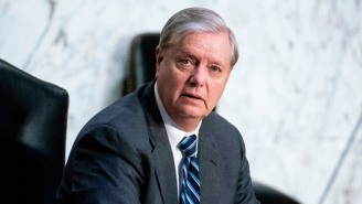 Lindsey Graham Is Being Mocked For Bizarrely Insisting That Republicans 'Can't Grow' Without Trump As President