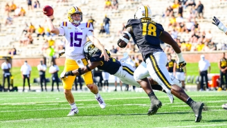 Mizzou Stunned LSU With A Late Goal Line Stand