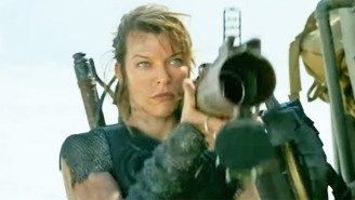 The 'Monster Hunter' Trailer Has Milla Jovovich Trading Zombies For Beasts With The 'Resident Evil' Director