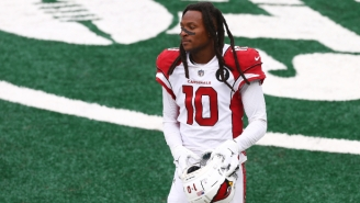 DeAndre Hopkins Meant To Give A Peace Sign To A Trump Caravan, But His Index Finger 'Was Kinda Hurting'