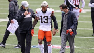 Odell Beckham Jr. Is Out For The Season With A Torn ACL