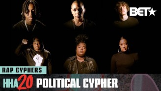 Polo G, Jack Harlow, Rapsody, Chika, And More Rap Over 'F*ck The Police' In Their 2020 BET Hip-Hop Cyhper