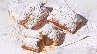 Popeyes Launched Chocolate-Filled Beignets In The Boston Area