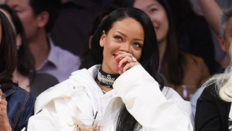 Rihanna Belts Out 'We Are The Champions' In Celebration Of The Lakers' NBA Title