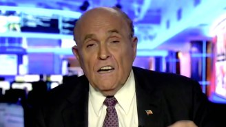 Rudy Giuliani Started Shouting When Asked About The 'Borat' Sequel Hotel Scene By A Fox Business Host