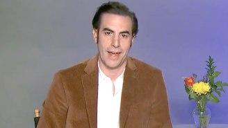Sacha Baron Cohen Broke Character To Discuss The Rudy Giuliani Scene In The 'Borat' Sequel