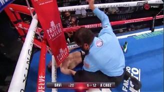 Gervonta Davis Knocked Leo Santa Cruz Out Cold With A Vicious Uppercut