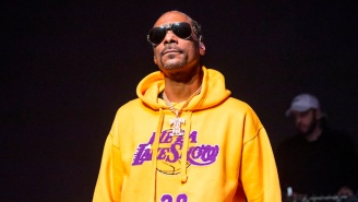 Snoop Dogg Got A Huge New Tattoo To Commemorate The Lakers' Latest NBA Championship