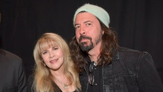 In The Midst Of Fleetwood Mac's Viral Moment, Stevie Nicks Drops A New Single Featuring Dave Grohl