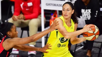 Sue Bird's Double-Double Led The Storm To A 2-0 Lead Over The Aces In The WNBA Finals