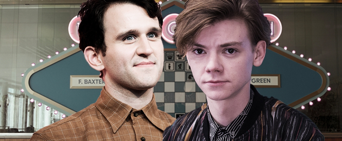 'The Queen's Gambit' Stars Thomas Brodie-Sangster And Harry Melling Faked It Until They Made It