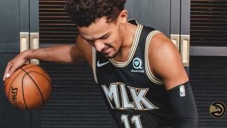 The Atlanta Hawks Unveiled New MLK Uniforms For Next Season