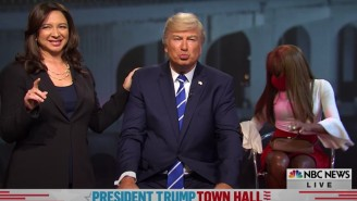 The 'SNL' Cold Open Grappled With NBC's Donald Trump 'Thirst Trap' Town Hall