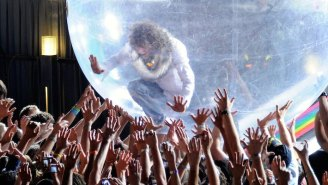 The Flaming Lips Held The First Of Two Live Space Bubble Concerts In Oklahoma City
