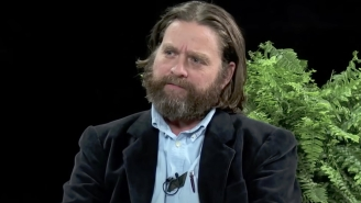 Zach Galifianakis Was Blacklisted From A COVID 'Public Campaign' Because Trump Wasn't On 'Between Two Ferns'