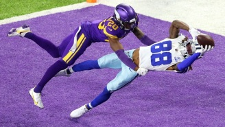 Watch CeeDee Lamb's Entry In The Catch Of The Year Conversation