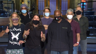 Dave Grohl Makes A Preemptive 2020 Prediction With Dave Chappelle In Their 'SNL' Promo