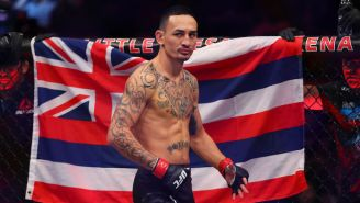 Max Holloway Will Return To The UFC In January Against Calvin Kattar