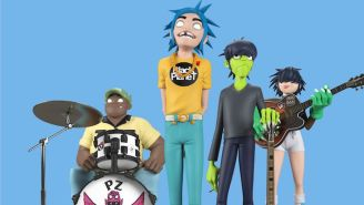 Fans Can Now Own Each Member Of Gorillaz With Their New Line Of Plastic Toys