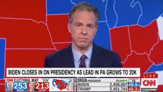 Jake Tapper Reminded Everyone He's A Sixers Fan While Discussing How Long It's Taking To Pick A President