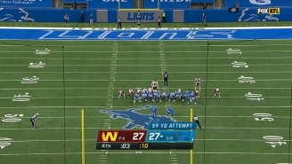 The Washington Football Team Allowed The Lions To March To A Game-Winning FG In 16 Seconds