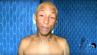 Pharrell Shares His Skincare Routine In An Uplifting 'Beauty Secrets' Video With 'Vogue'