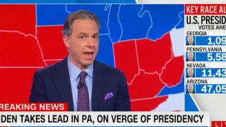 Jake Tapper Has Made A Rare And Direct Appeal To Fox News To Fairly Report On A Possible Trump Loss