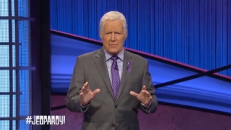 Watch Alex Trebek's Powerful Message For Jeopardy's Thanksgiving Show