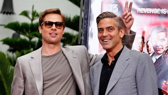George Clooney Reveals The Dastardly Prank That Brad Pitt Played On Him While They Filmed 'Ocean's Twelve'