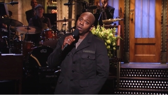 Dave Chappelle Will Host The First Post-Election 'SNL' And It Got People Talking About 2016