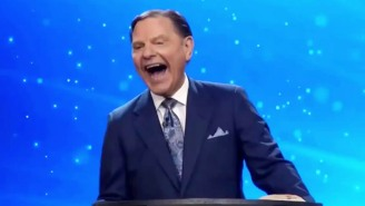 Witness Televangelist Kenneth Copeland's Maniacal 40-Second Laugh At The Notion Of President Biden