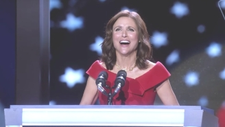 Julia Louis-Dreyfus Broke Out A Rudy Giuliani Impression While Promoting A 'Veep' Reunion