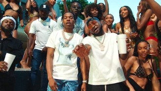 Davido And Lil Baby Throw A Party That's 'So Crazy' In A Video Alongside Their Rhythmic Single