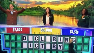 Watch A 'Wheel Of Fortune' Contestant Disastrously Declare 'Victory' And Lose