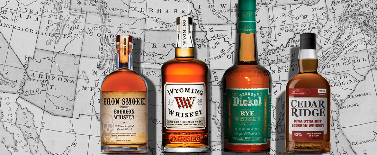 A Whiskey Writer Shares His Favorite Bottle Of Whiskey From Each State