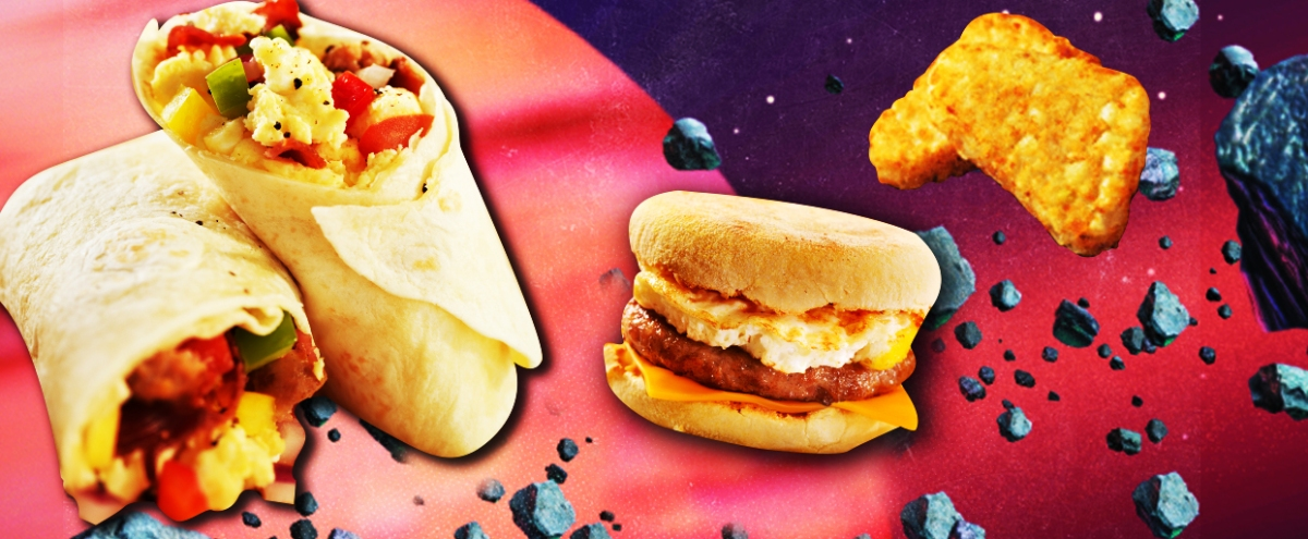 Ranking The Best Breakfast Items Across The Fast-Food Universe