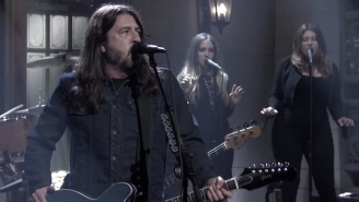 Foo Fighters Debuted Their 'Shame Shame' Single On 'SNL' Ahead Of Their 'Medicine At Midnight' Album