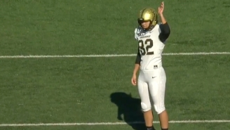 Watch Vanderbilt Kicker Sarah Fuller Become The First Woman To Play In A Power 5 Football Game